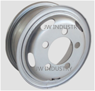 We can produce and supply Steel tubeless wheel rim